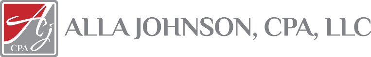 Alla Johnson CPA LLC Logo